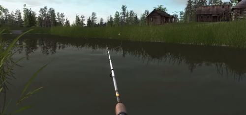 Русская Рыбалка 4 - заброс удочки