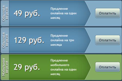 Пополнение счета в Русской Рыбалке